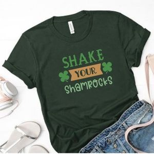 Shake Your Shamrocks St. Patricks Day Tee